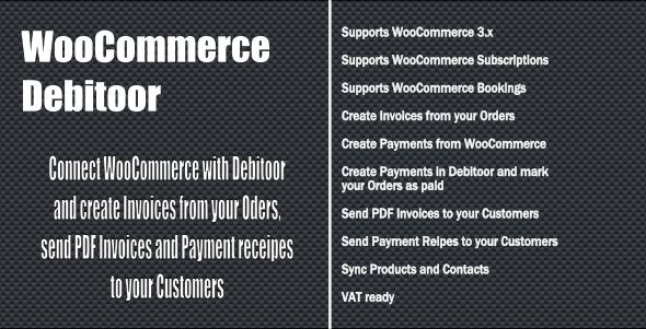 WooCommerce Debitoor Connect - CodeCanyon Item for Sale