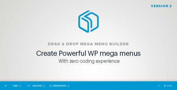 WordPress Mega Menu Plugin - Drag & Drop - Pixelmenu