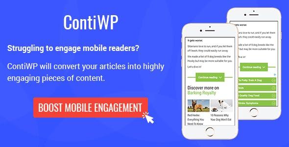 ContiWP - WordPress Truncate Mobile Articles Plugin