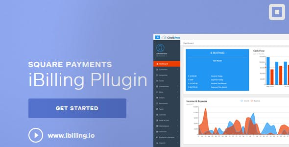 Square Payment Gateway for iBilling