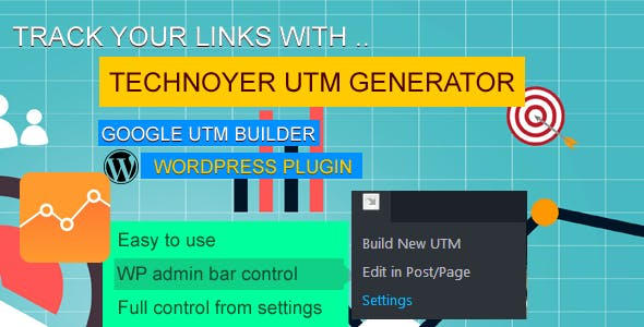 UTM Code Generator for Google Analytics Tracking URL Wordpress Plugin