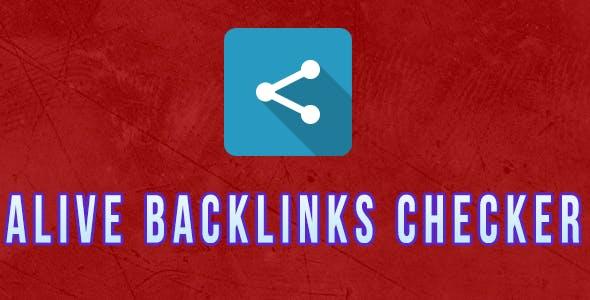 Alive Backlinks Checker