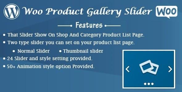 Woo Product Gallery Slider