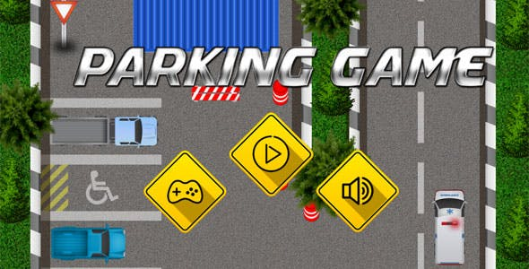 Parking game - HTML5 Car Park Game (CAPX included)