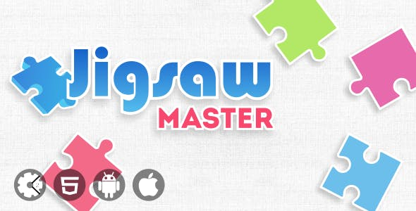 Jigsaw Master - HTML5-based Puzzle Game with Admob Ads