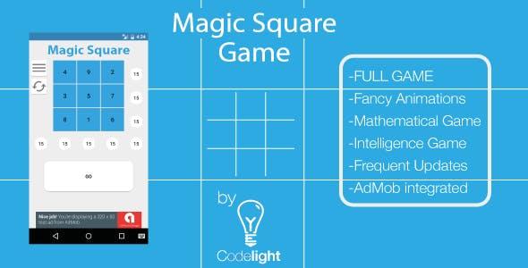 Magic Square Game Template + AdMob