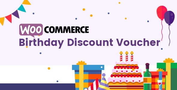 WooCommerce Birthday Discount Vouchers - CodeCanyon Item for Sale