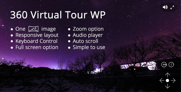 360 Virtual Tour WP - CodeCanyon Item for Sale