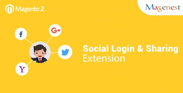 Magento 2 Social Login and Share