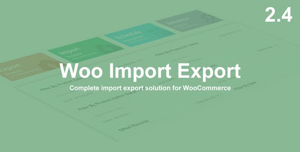 Woo Import Export        Nulled