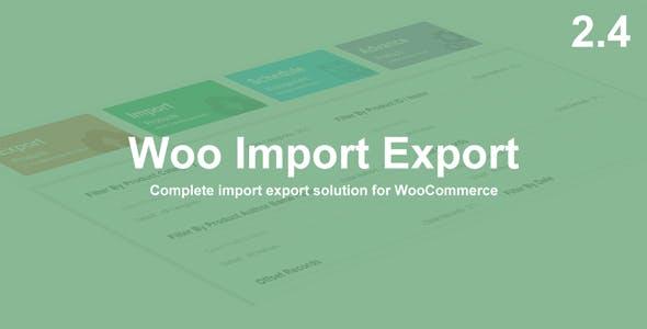 Woo Import Export
