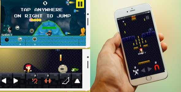 3 iOS Game Templates + IAP + Game Service