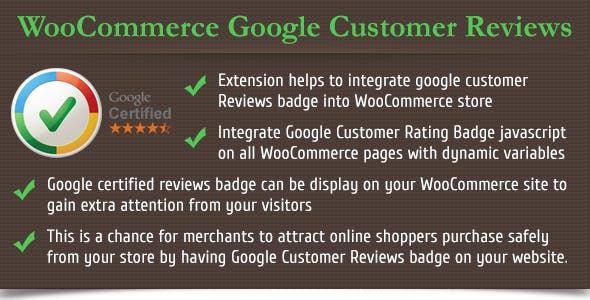 WooCommerce Google Customer Reviews