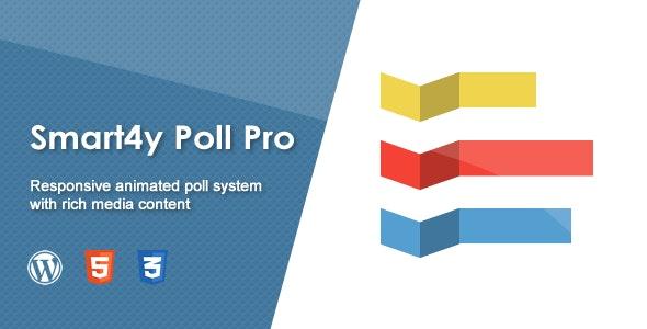 Smart4y Poll Pro - Responsive Animated WordPress Plugin - CodeCanyon Item for Sale