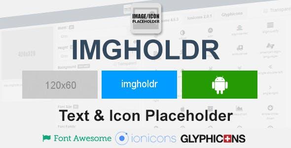 Imgholdr - Image & Icon Placeholder