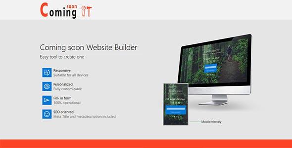 Coming Soon Builder