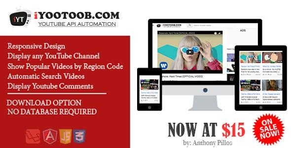 iYOOTOOB - YOUTUBE API AUTOMATION