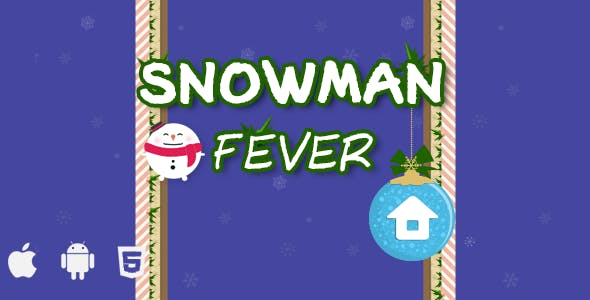 SNOWMAN FEVER- Html5 Game