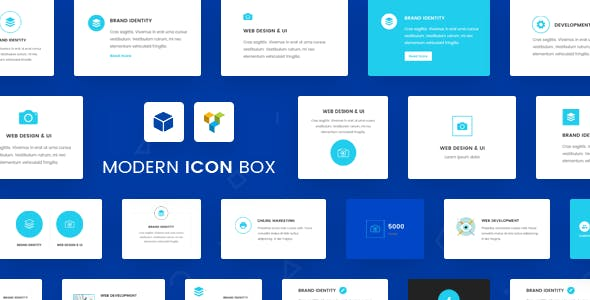 Ultimate Icon Box for Visual Composer WordPress