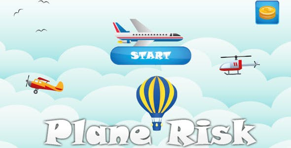 Plane Risk ( Flat Child Game )