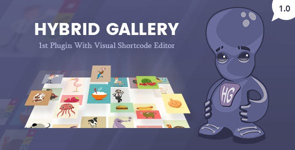 Hybrid Gallery | Visual Gallery Plugin for WordPress