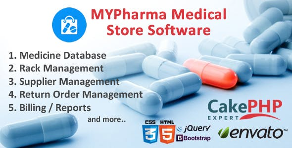 MyMedic Medical Store Software