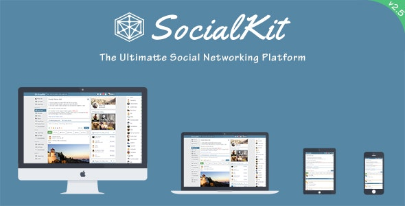 SocialKit - The Ultimate Social Networking Platform - CodeCanyon Item for Sale