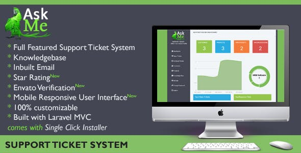 AskMe - Advanced Support Ticket System