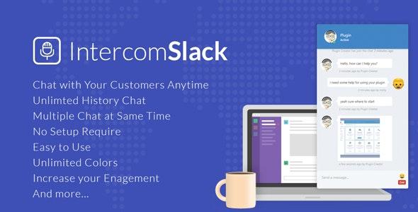 WP Intercom - Slack for WordPress - CodeCanyon Item for Sale