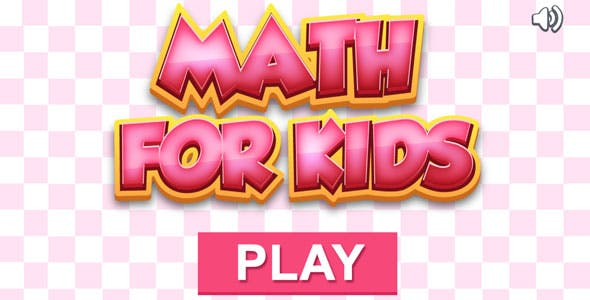 Math for Kids - HTML5 Educational Game (CAPX included)