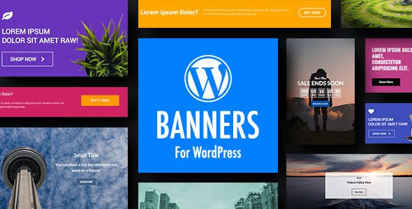 WordPress Banners Plugin with Layout Builder