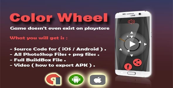 Color Wheel -  New Game ( doesn't even exist on the playstore or apple store ) - CodeCanyon Item for Sale
