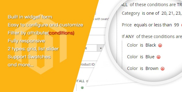 Filter Product Slider Magento 2 Extension - CodeCanyon Item for Sale