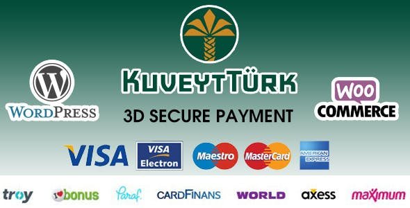 Kuveyt Türk 3D Virtual POS Gateway for WooCommerce