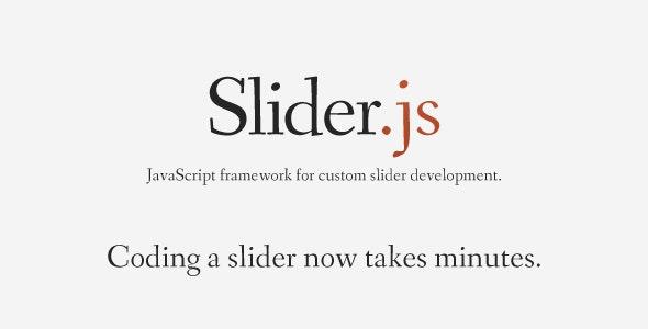 Slider.js - JS framework for slider development - CodeCanyon Item for Sale