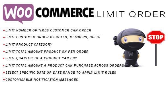 Woocommerce Limit Order