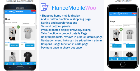 FlanceMobileWoo - Woocommerce Mobile Theme - CodeCanyon Item for Sale