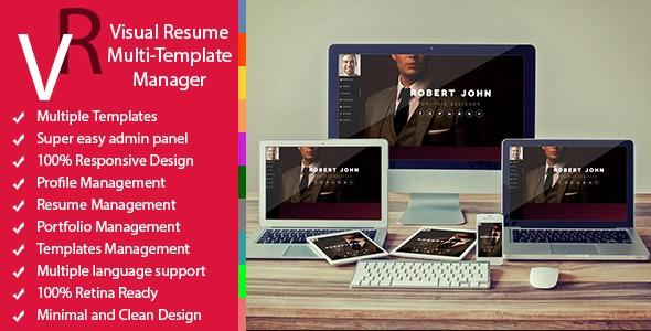 Premium - Multiuser Resume Manager - CodeCanyon Item for Sale