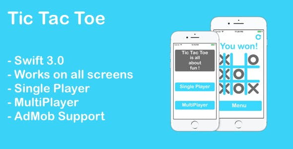 Tic Tac Toe - iOS App with AdMob