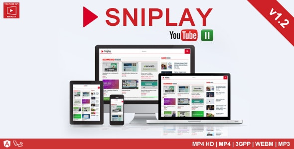 Sniplay - Watch & Download Youtube Video and MP3 - CodeCanyon Item for Sale