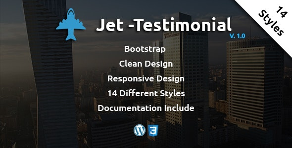 Jet - Wordpress Testimonial - CodeCanyon Item for Sale