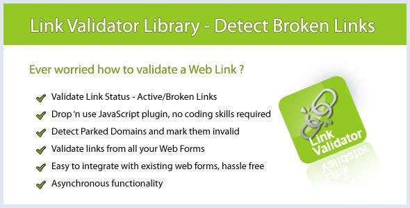 Link Validator - Detect Valid & Broken Links - CodeCanyon Item for Sale