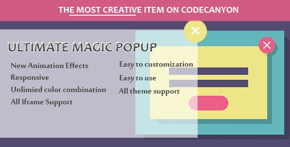 Visual Composer - Ultimate Magic Popup