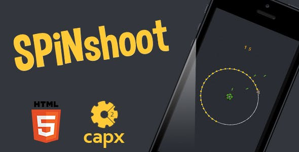 SpiNshoot HTML5 game + Capx