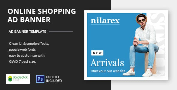 Shopping - HTML5 Animated Banner 19