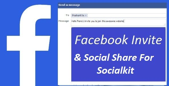 Facebook Invite with Social Share For Socialkit