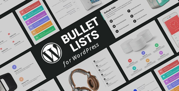 WordPress Bullet List Plugin with Layout Builder - CodeCanyon Item for Sale
