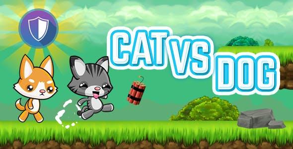 Cat Vs Dog - HTML5 Game (Capx)