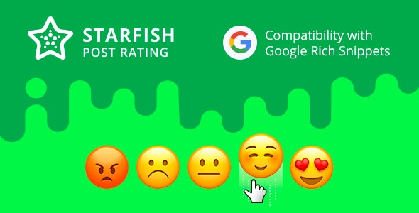 Strafish Post Rating for WordPress - CodeCanyon Item for Sale