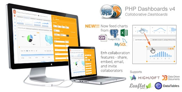 PHP Dashboards v4.7 (Collaborative Social Dashboards - 100% source code included) - CodeCanyon Item for Sale